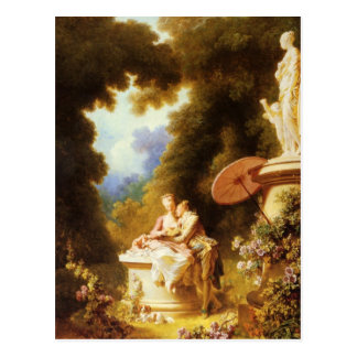 Jean-Honoré Fragonard Fine Art Postcard