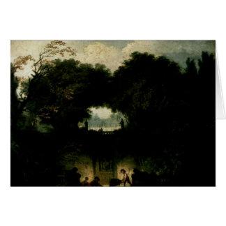 Jean-Honore Fragonard- The Small Park Card