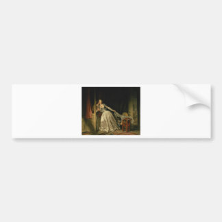 Jean-Honore Fragonard - The Stolen Kiss - Fine Art Bumper Sticker