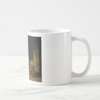 Jean-Honore Fragonard - The Stolen Kiss - Fine Art Coffee Mug