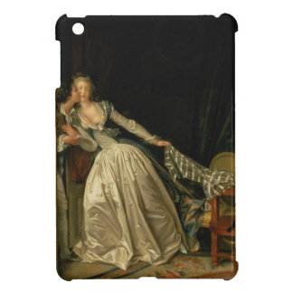Jean-Honore Fragonard - The Stolen Kiss - Fine Art Cover For The iPad Mini
