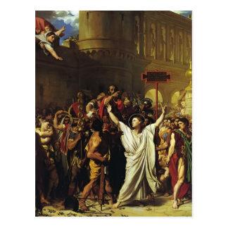 Jean Ingres- The Martyrdom of St. Symphorian Postcard