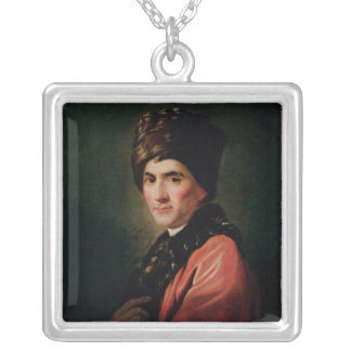 Jean Jacques Rousseau Silver Plated Necklace