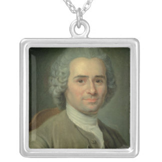 Jean-Jacques Rousseau Silver Plated Necklace