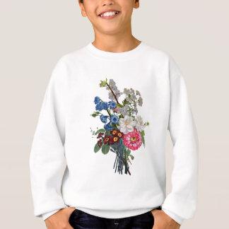 Jean Louis Prevost Mixed Flower Bouquet Sweatshirt