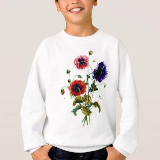 Jean Louis Prevost Mixed Poppy Bouquet Sweatshirt