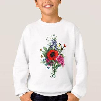 Jean Louis Prevost Poppy and Peony Bouquet Sweatshirt