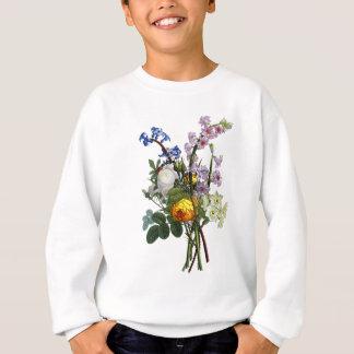 Jean Louis Prevost Rose and Narcissus Bouquet Sweatshirt