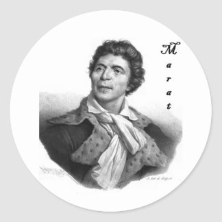 Jean-paul_marat_1 public domain with blackadder round sticker
