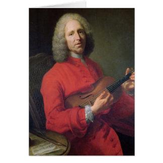 Jean-Philippe Rameau  with a Violin Card