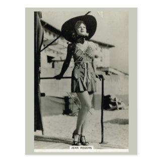 Jean Rogers Postcard