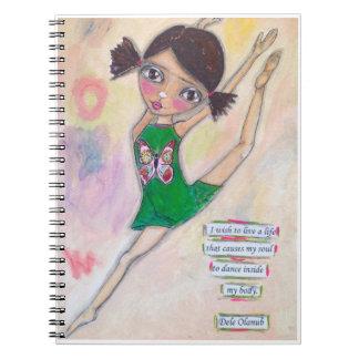 """Jeanette MacDonald Ballerina"" Journal"