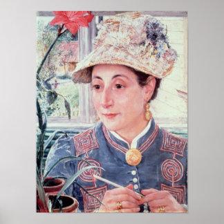 Jeanette Rubenson, 1883 Poster