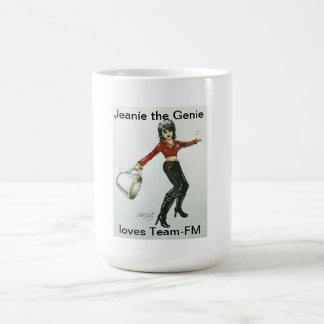 Jeanie the Genie loves Team-Fm Mug