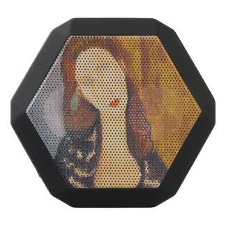 Jeanne Hebuterne portrait by Amedeo Modigliani Black Bluetooth Speaker