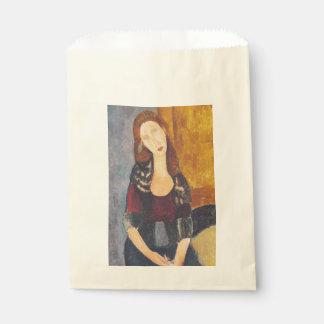 Jeanne Hebuterne portrait by Amedeo Modigliani Favour Bag