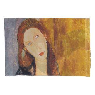 Jeanne Hebuterne portrait by Amedeo Modigliani Pillowcase
