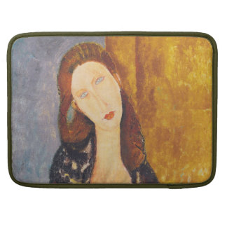 Jeanne Hebuterne portrait by Amedeo Modigliani Sleeve For MacBooks