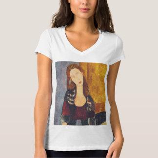 Jeanne Hebuterne portrait by Amedeo Modigliani T-Shirt