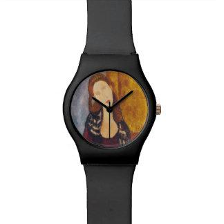 Jeanne Hebuterne portrait by Amedeo Modigliani Watch