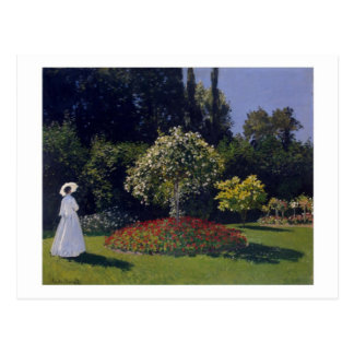 Jeanne-Marguerite Lecadre in the Garden postcard