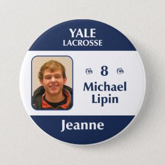 Jeanne - Michael Lipin 7.5 Cm Round Badge