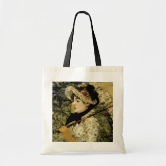 Jeanne: Spring 1881 by Manet Budget Tote Bag