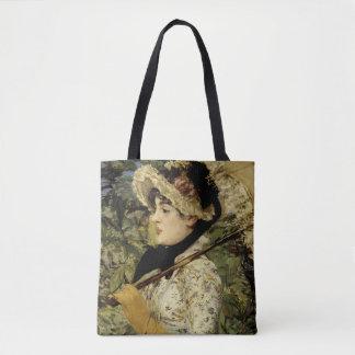 Jeanne: Spring 1881 by Manet Tote Bag