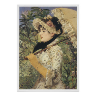 Jeanne: Spring, 1881 Edouard Manet Poster