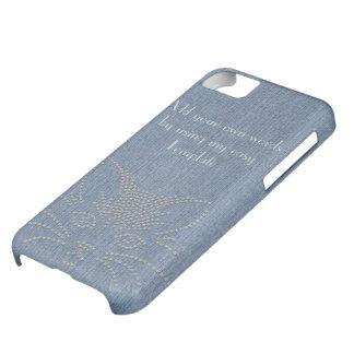 Jeans Cat iPhone 5C Case