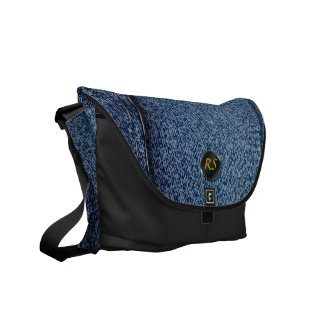 Jeans Design 1 Messenger Bag