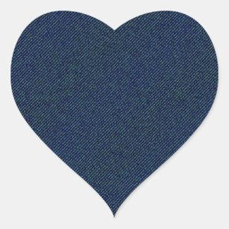 Jeans Heart Sticker