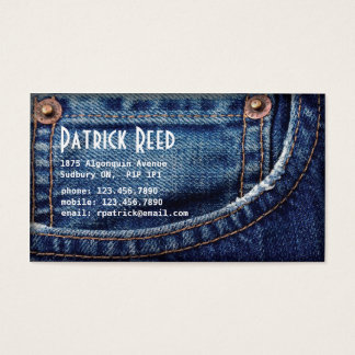Jeans - Style C Business Card