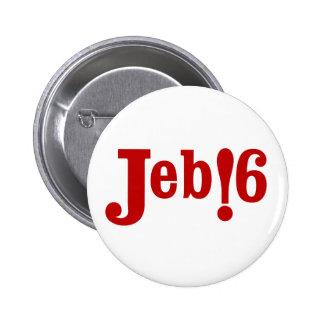 Jeb !6 6 cm round badge