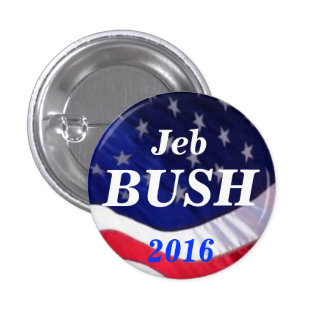 Jeb Bush 2016 button