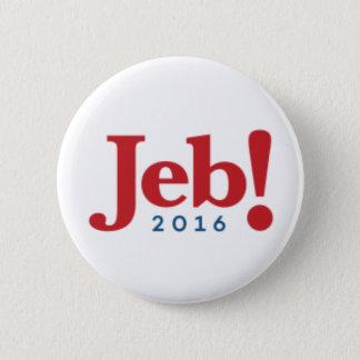 """Jeb Bush 2016 Campaign Button - 2.25"""" Round"""
