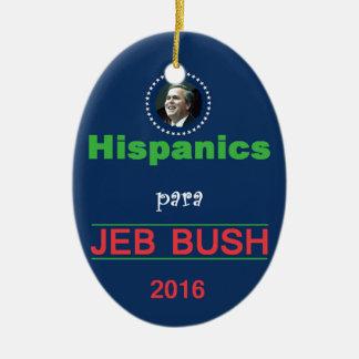 Jeb BUSH 2016 Ceramic Oval Decoration