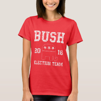 Jeb Bush Election Team 2016 T-Shirt