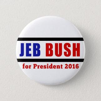 Jeb Bush for President in 2016 6 Cm Round Badge