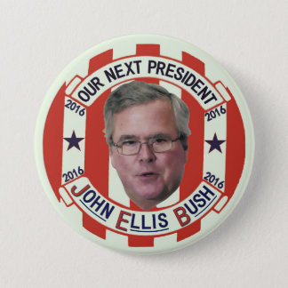 Jeb Bush President 2016 7.5 Cm Round Badge