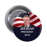 Jeb Bush President 2016 Button