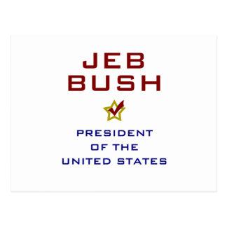Jeb Bush President USA V2 Post Cards