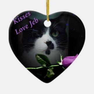 Jeb Ceramic Heart Decoration