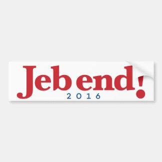 Jeb end! 2016 bumper sticker