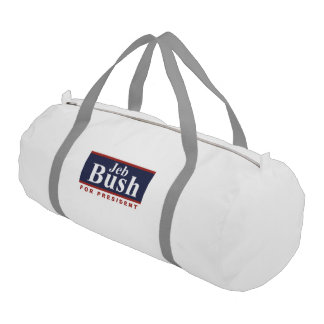 Jeb for President Campaign Sign 2016 Gym Duffel Bag