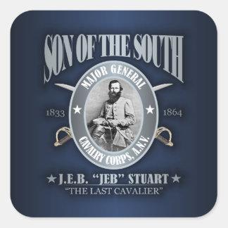 JEB Stuart (SOTS2) Square Sticker