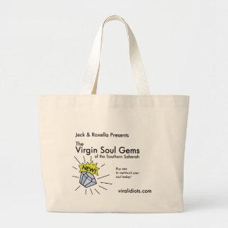 Jeck & Roxella Presents Virgin Soul Gems Jumbo Tote Bag
