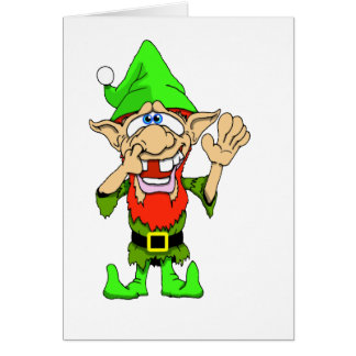 Jed the Twisted Elf Card
