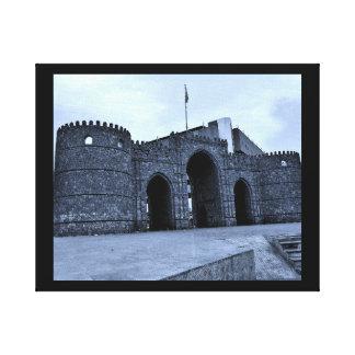 Jeddah Gate Canvas Print