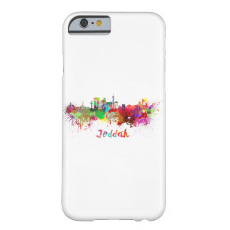 Jeddah skyline in watercolor barely there iPhone 6 case